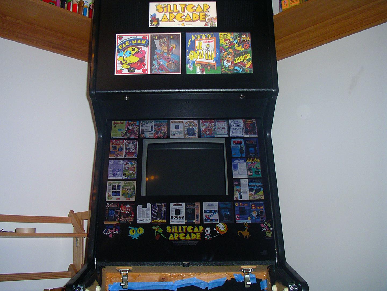 arcade machine monitor