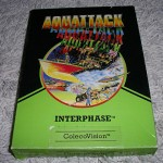 Aquattack by Interphase for ColecoVision™ - Box (Front)