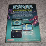 Destructor by Coleco for ColecoVision™ - Box (Back)
