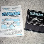 Destructor by Coleco for ColecoVision™ - Cartridge & Instructions