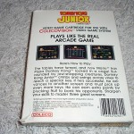 Donkey Kong Junior™ for ColecoVision™ - Box (Back)