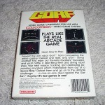 Gorf™ for ColecoVision™ - Box (Back)