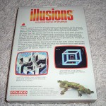 Illusions™ for ColecoVision™ - Box (Back)
