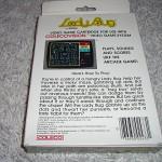 LadyBug™ for ColecoVision™ - Box (Back)